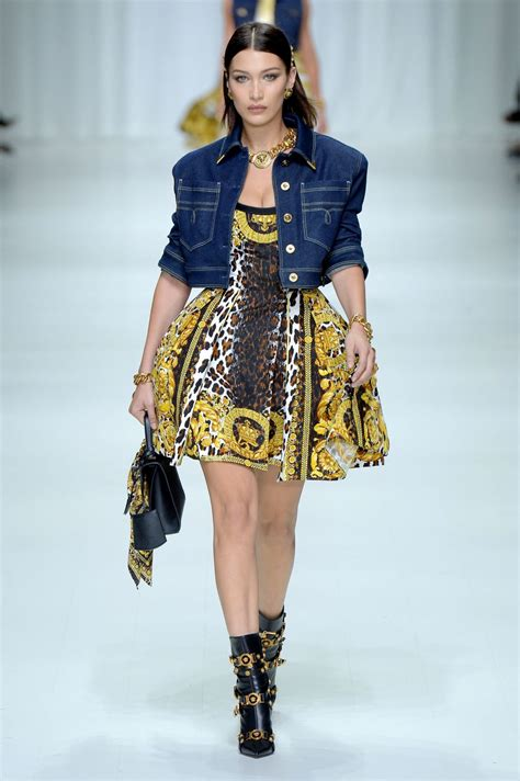 Milan Fashion Week by Hadid At Versace Fashion Show At Milan Fashion Week