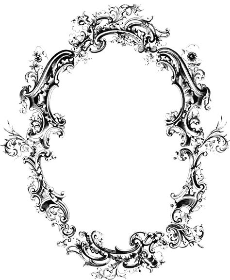 filigree pattern frame 174 best images about filigree acanthus on pinterest
