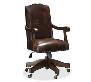 calais swivel desk chair pottery barn