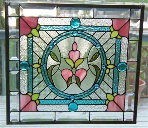 delphi glass tutorial victorian style panel delphi stained glass stained
