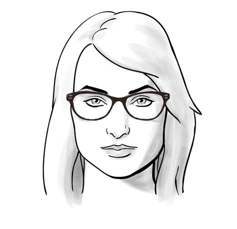 glasses frames for square faces fit guide glasses for square face shapes thelook