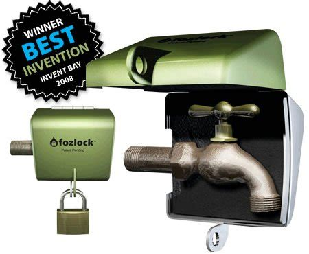 Outdoor Faucet Lock Box by Fozlock Outdoor Hose Bibb Faucet Lock Your Garden Box