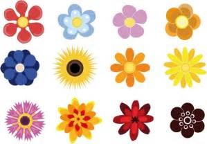 Cute flowers free vector in adobe illustrator ai ai vector