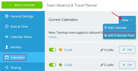Icalendar Feed Inbound Icalendar Feeds How To Subscribe To Other Calendars