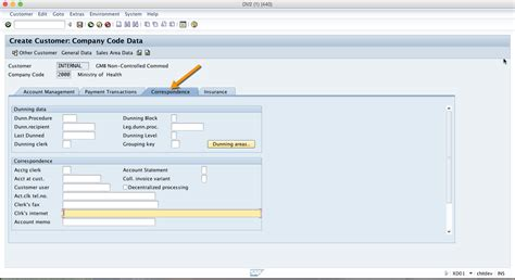 sap tutorial technical sap customer account tutorial free sap fi training