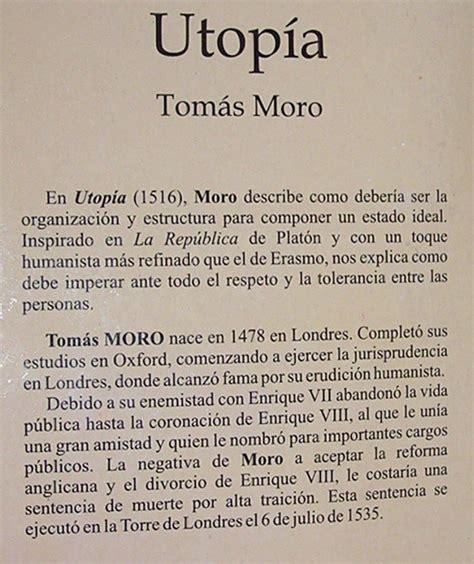 descargar libro utopia tomas mora gratis utop 237 a tom 225 s moro 4 900 en mercado libre
