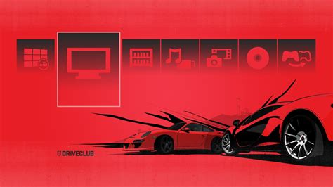 ps4 themes cars free driveclub ps4 theme released team vvv