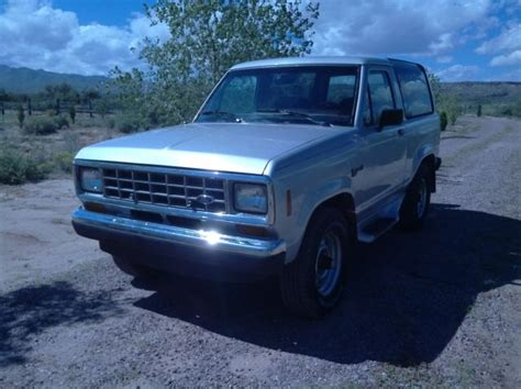 how cars run 1988 ford bronco transmission control 1988 ford bronco ii 4x4 silver 106232 original miles great car fax for sale in san acacia new