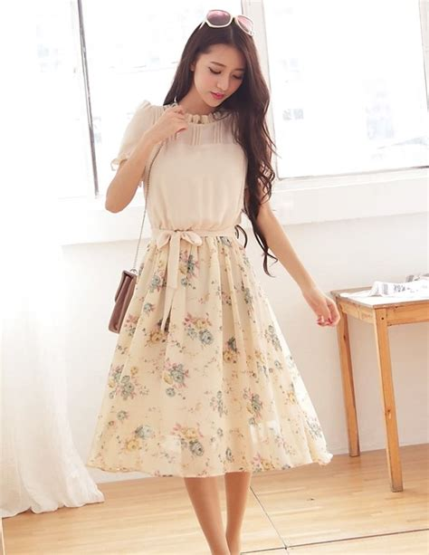 Dress Korea Original Import 6527 mau baju korea baju kerja wanita dress import dress blouse