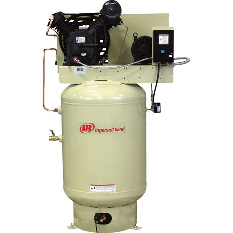 free shipping ingersoll rand electric stationary air - 10 Hp Air Compressor Cfm