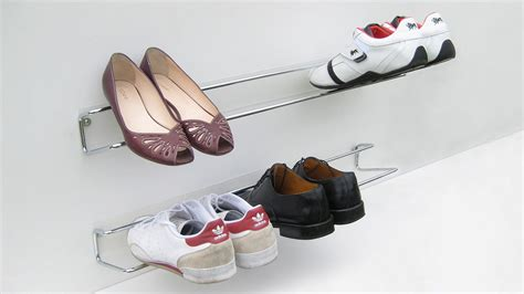 other uses for metal shoe rack wired shoe rack a smarter way to organise your shoes