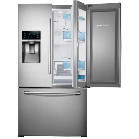 Kulkas Showcase 3 Rak samsung 27 8 cu ft food showcase door refrigerator in stainless steel rf28hdedbsr the