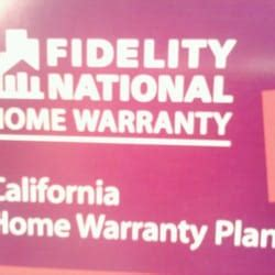fidelity national home warranty real estate services