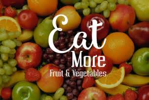 eat more fruit and vegetables chris james mind body