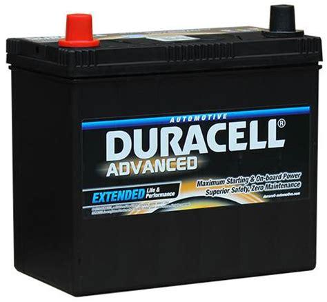 duracell car battery charger da45l duracell advanced car battery 12v 45ah 049 da 45l