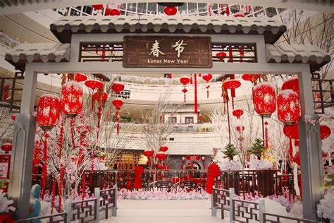 new year decorations shopping mall cny decorations promotions in penang s shopping malls