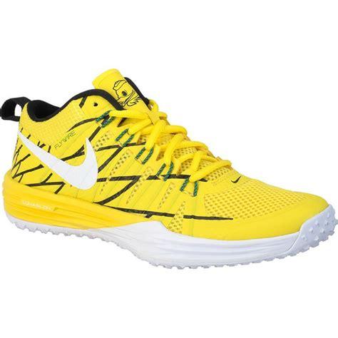 oregon duck shoes nike lunar tr1 nrg oregon ducks puddles yellow size 10