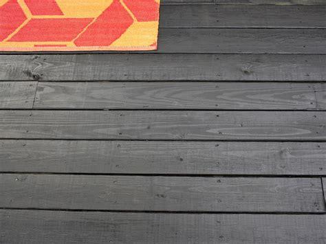 stain  wooden deck hgtv