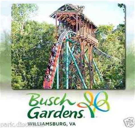 busch gardens williamsburg virginia ticket $45 promo