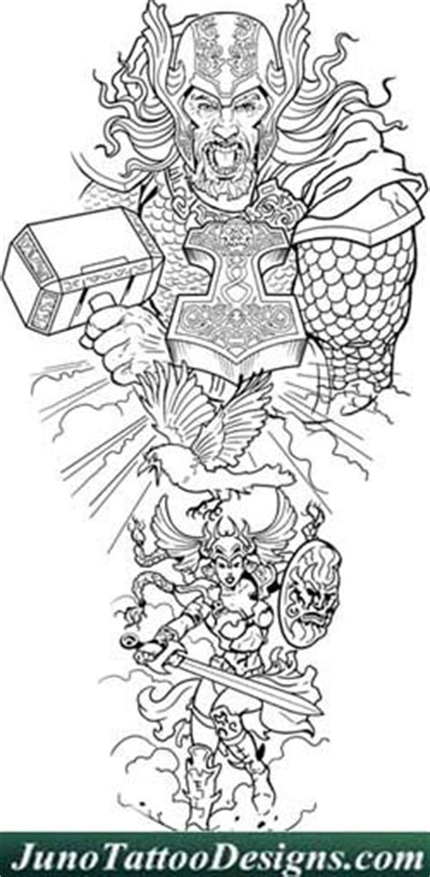 thor valkyrie tattoo template juno tattoo designs how to