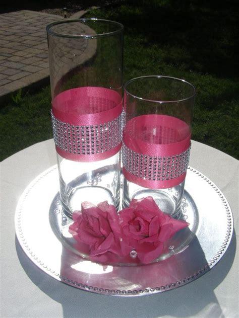 Vase Communicant by Best 25 Vase Centerpieces Ideas On Glitter