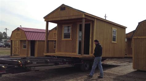 hickory buildings delivery trailer youtube