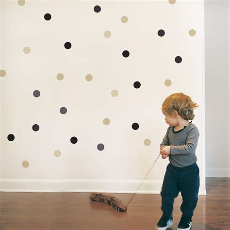 Little Boy Bedroom Decorating Ideas dots wall decal kids d 233 cor tips trendy peastrendy peas