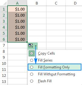 excel 2007 format painter multiple cells how to select non adjacent cells in excel mac 2011 copy