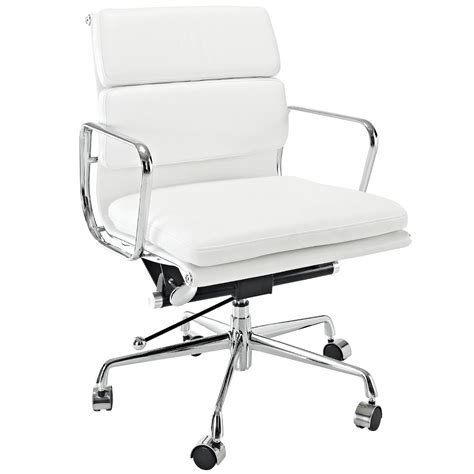 White Computer Chairs by White Office Chair With Wheels Best Computer Chairs For