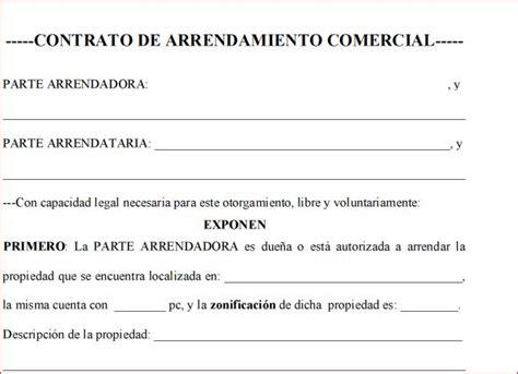 contrato de arrendamiento de local comercial contrato de arrendamiento local comercial en espa 241 ol