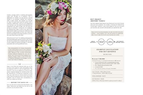 Wedding Photography Guide by Pricing Guide For Wedding Photographers Design Aglow