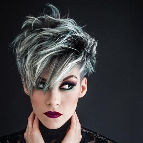pics of silver frosted hair on black women 1000 images about kenra color silver and violet metallics