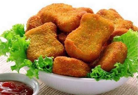 resep membuat nugget ayam dan ikan cara membuat nugget ikan resep masakan dan kue