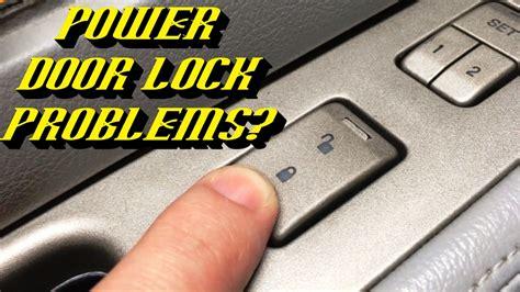 lincoln navigator power door locks inoperative