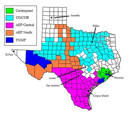texas electric cooperatives map coverage map electricity express