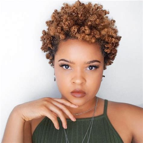short hairstyles for 4b 4c natural hair 2018 short spring and summer hairstyles for black women