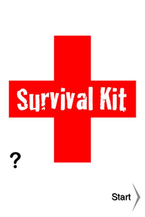 survival kit sports comprehensive instructions