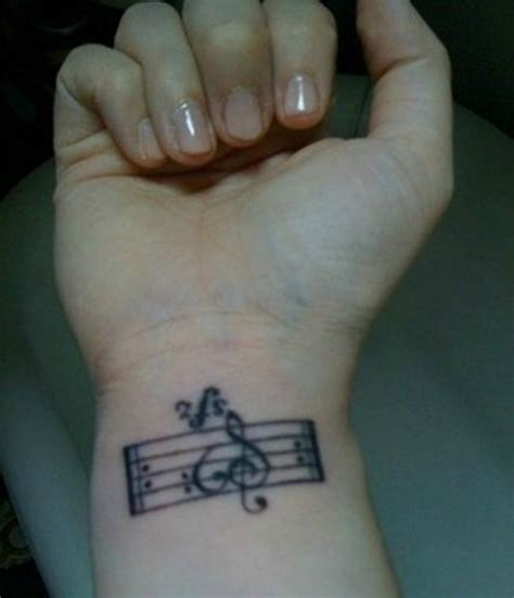 music tattoos wrist 41 awesome notes tattoos on wrists