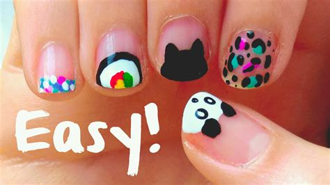 simple design tool easy nail designs for nails for beginners