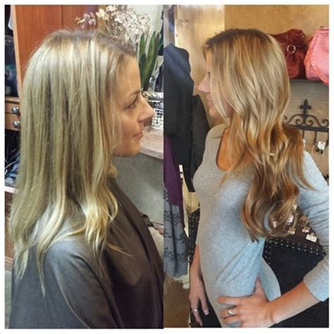 hair extensions before and after with natural beaded rows before and after color and natural beaded row extensions