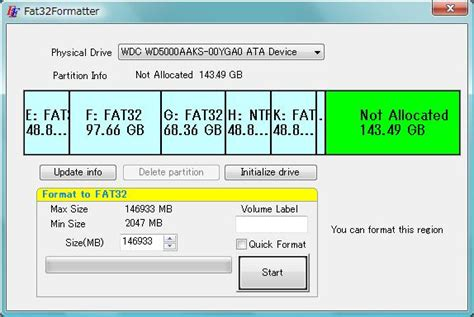 format fat32 no limit the best alternative to fat32formatter