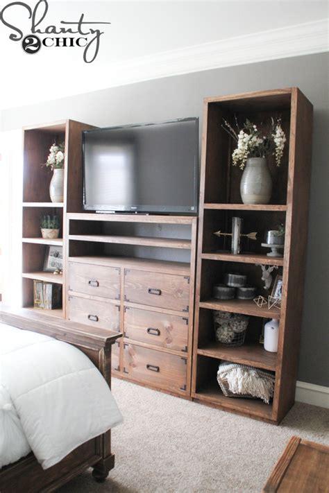 diy media cabinet diy shelves for my sliding barn door media console
