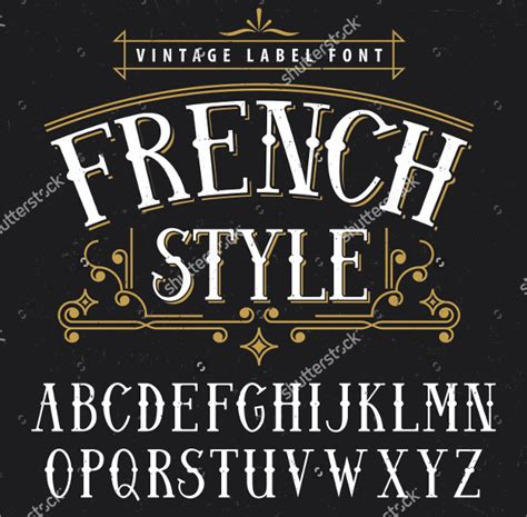 Vintage Lettering Fonts Vintage Lettering Fonts Images