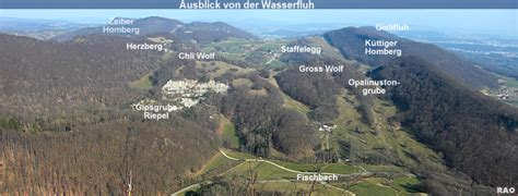 wandlen aus gips raonline schweiz wandern aargau region staffelegg