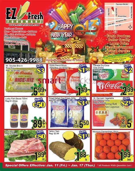 EZ Fresh Foodmart flyer Jan 11 to 17