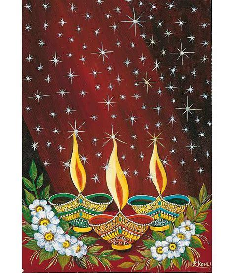 Imfpa Diwali Diyas Painting - Large: Buy Imfpa Diwali ... M And T Bank Hours