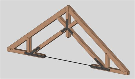 timber frame engineer a sling of timber trusses