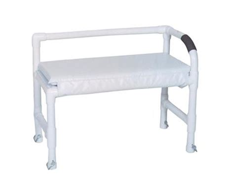 height of shower bench mjm adjustable height shower bench save at tiger medical inc