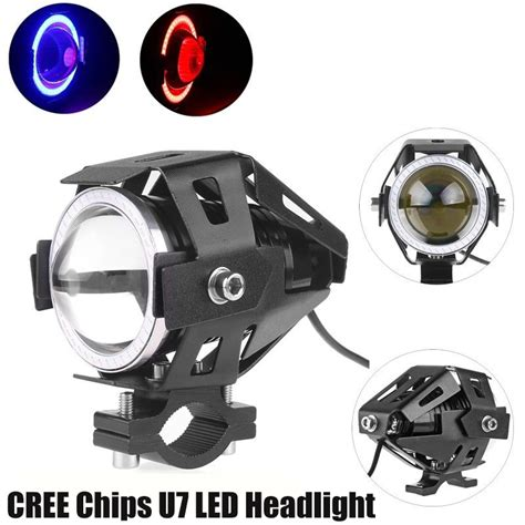 Lu Led Cree U7 125w cree chips u7 work light motorcycle led headlight