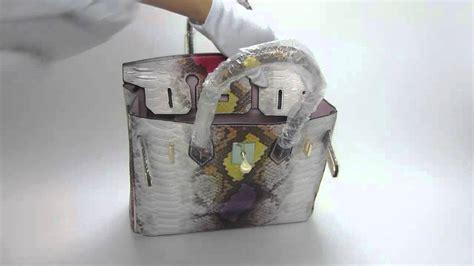 Hermess Birkin Python Premium python skin birkin bag